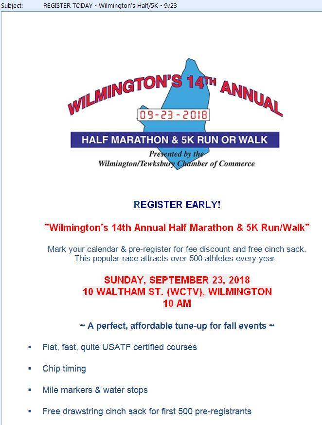 Wilmington Half Mararthon