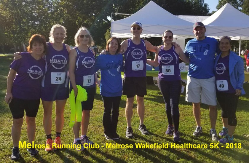 Melrose Running Club, Melrose Wakefield Healthcare Stride for Healthy Communities 5K