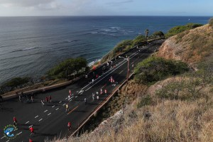 Honolulu Marathon Ocean View