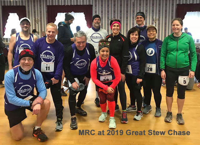 Great Stew Chase 2019, 15K Race, Melrose Running Club