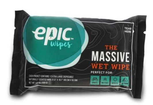 Epic Wipes Product Review
