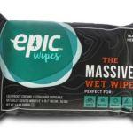Epic Wipes, massive wipes