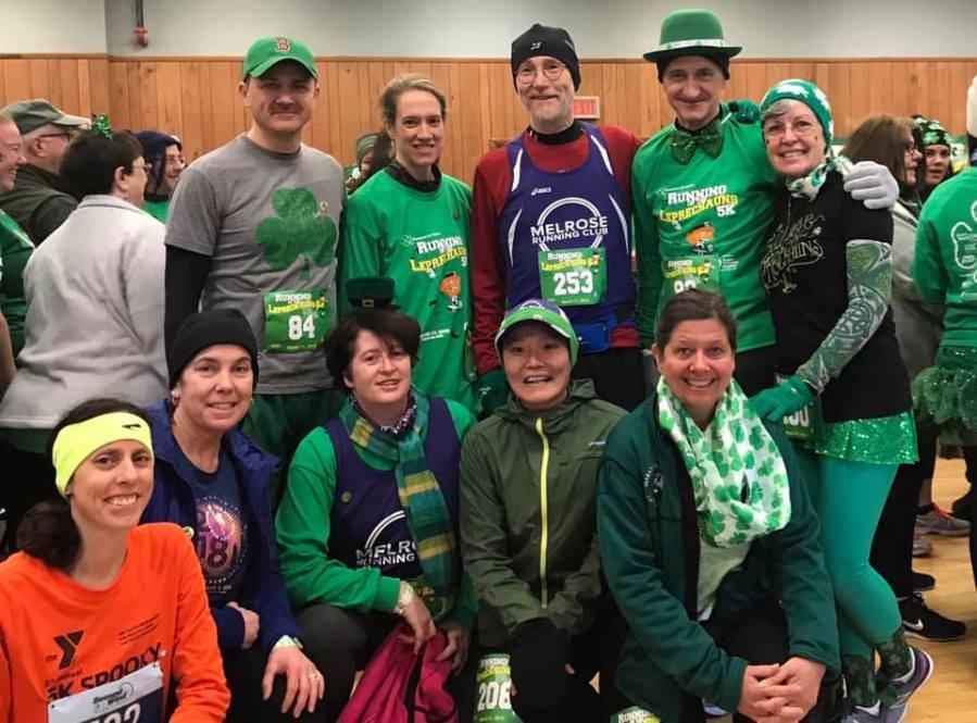 Melrose Running Club, Running of The Leprechauns 6