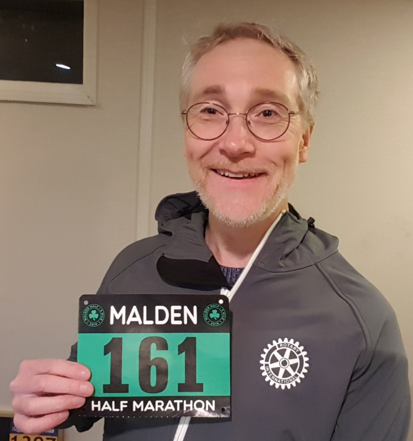 Malden Half Marathon, Winter Running
