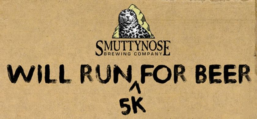 Smuttynose Will Run 5K for Beer, Virtual 5K