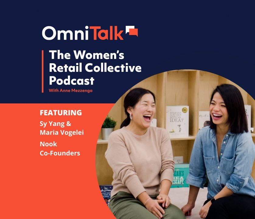 Women's Retail Collective Podcast: Nook Co-Founders, Maria Vogelei and Sy Yang