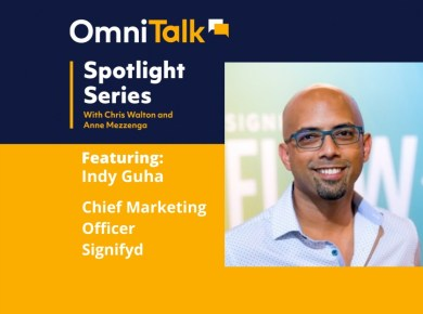 Omni Talk Spotlight Series With Indy Guha Signifyd