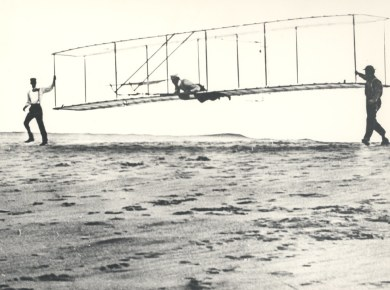 Early Wright Brothers Flight Experiments