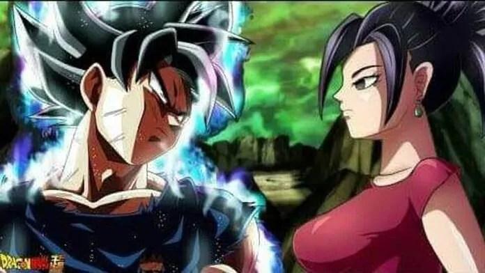 Goku vs Kefla