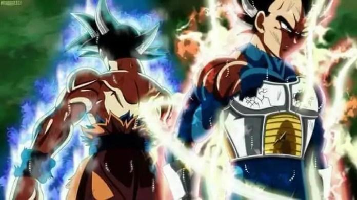 Vegeta Goku Ultra Instinct