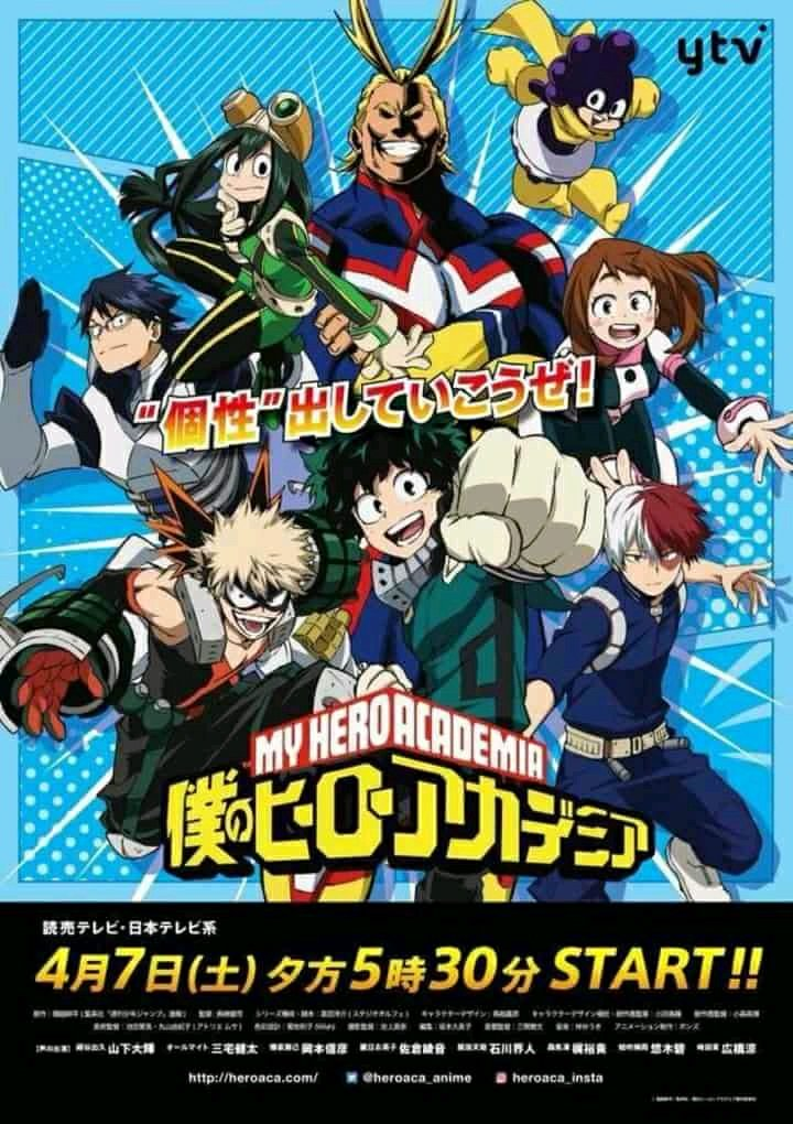 Boku No Hero Academia Season 3 New Key Visual