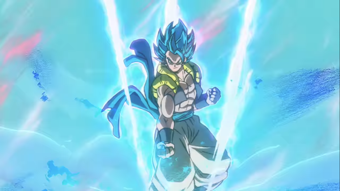 Dragon Ball Super Movie Broly Officially Teased Gogeta Blue Vs Broly