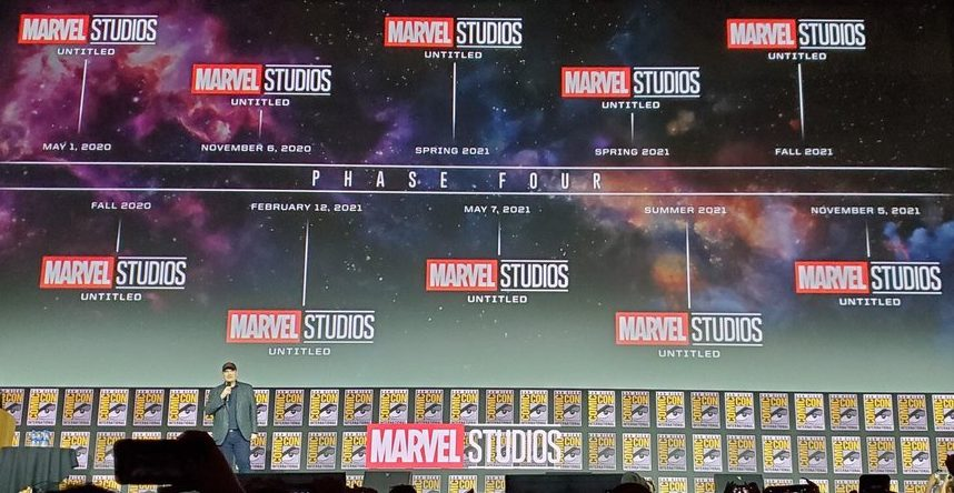 Marvel Cinematic Universe all Announcements PHASE 4 | Omnitos