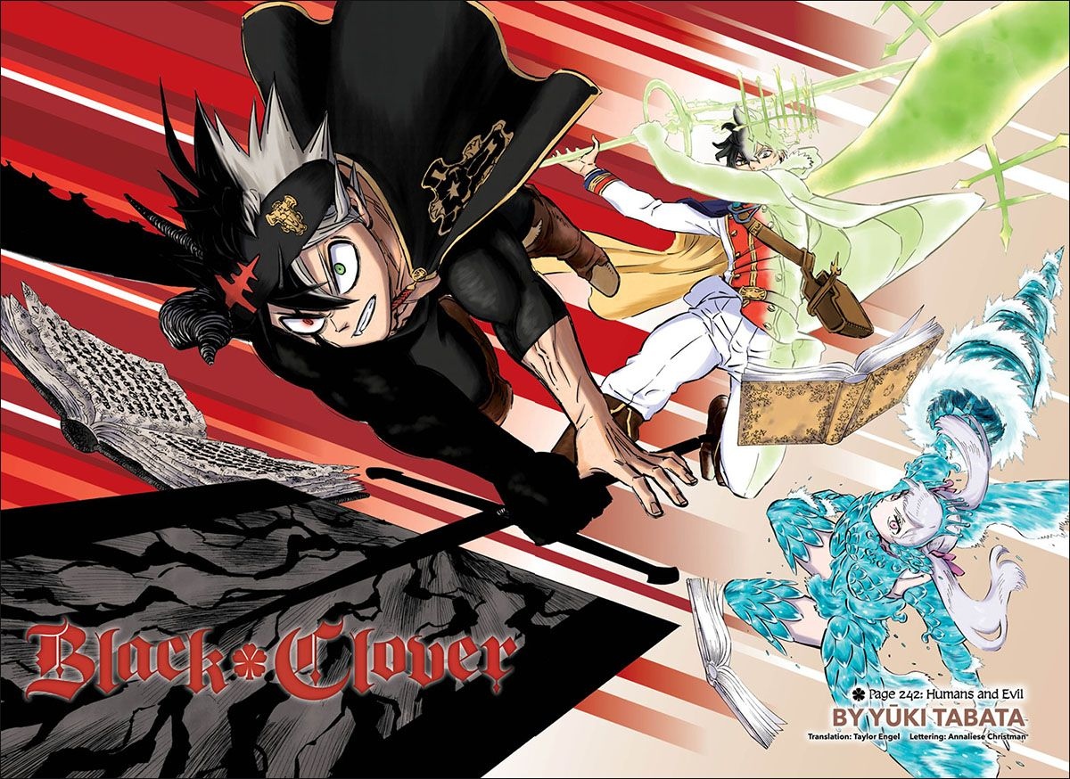 New Black Clover illustration