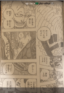 One Piece Chapter 981 Marco