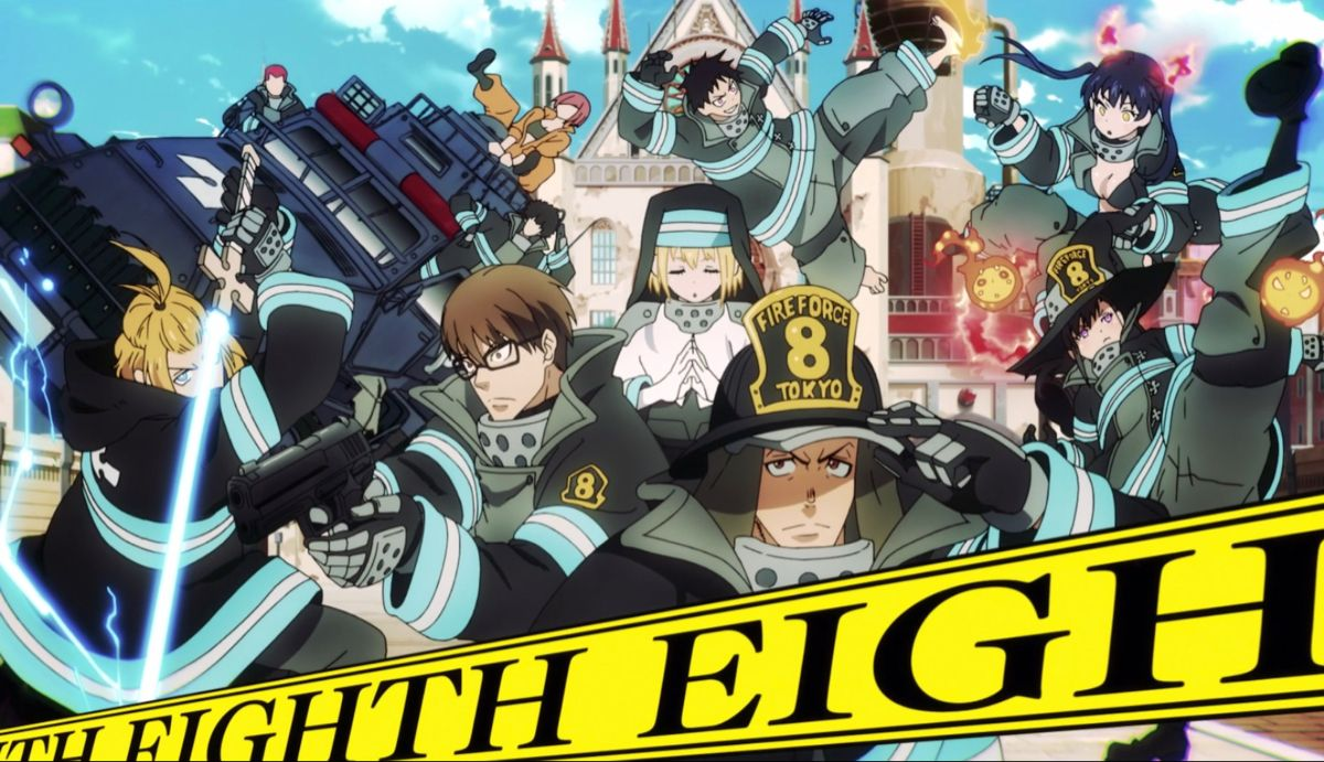 Fire Force company eight