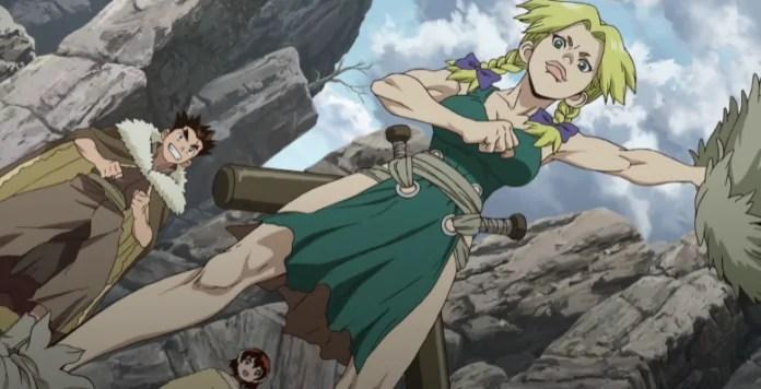 Dr. Stone Stone Wars Episode 4