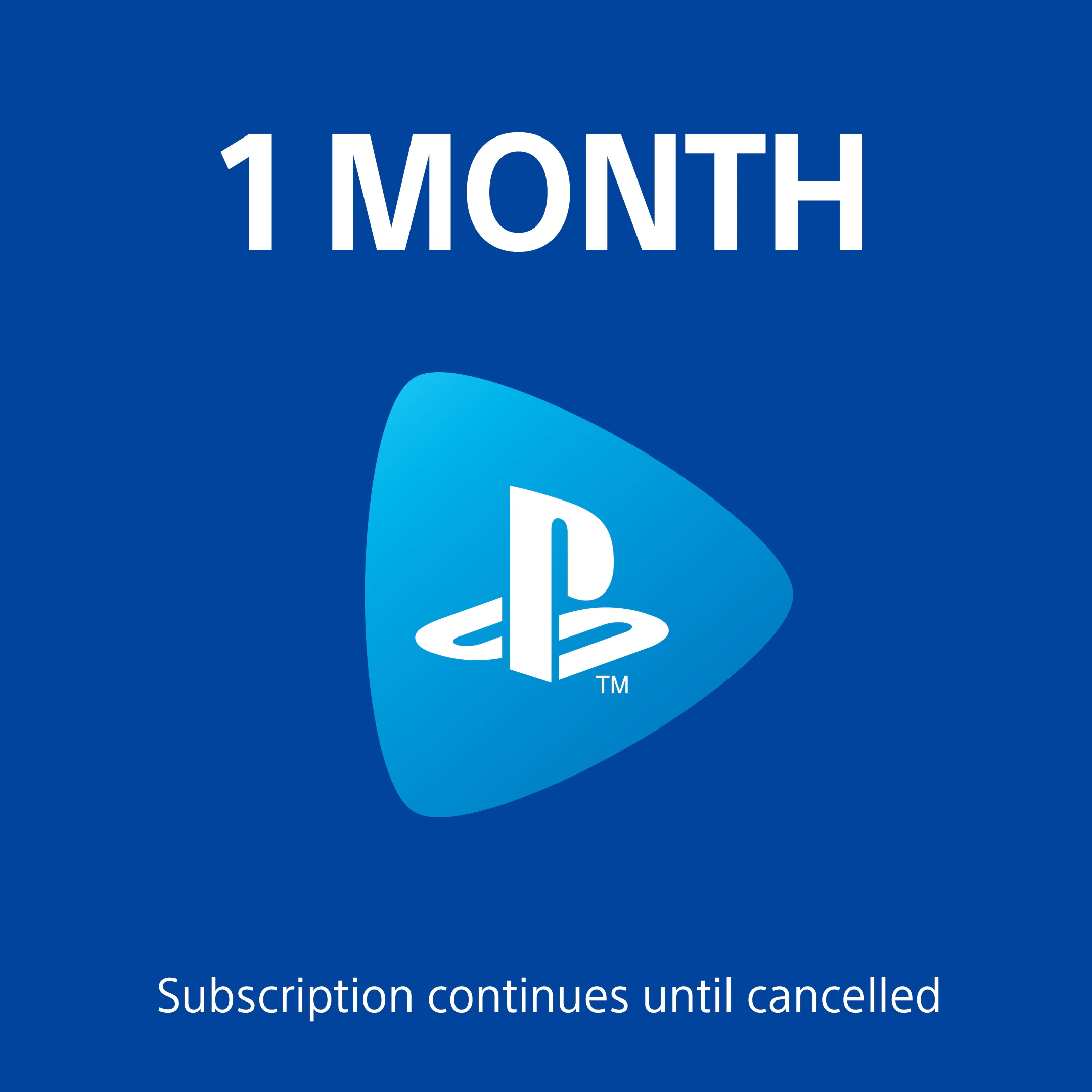 PS Now One Month Plan