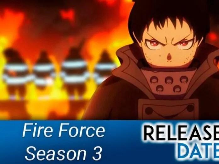 Fire Force Season 3 Release Date