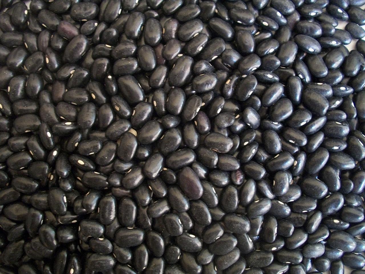 Haricots noirs en vrac