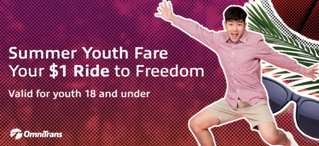Summer youth fare image