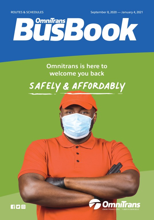 September 2020 Bus Book cover