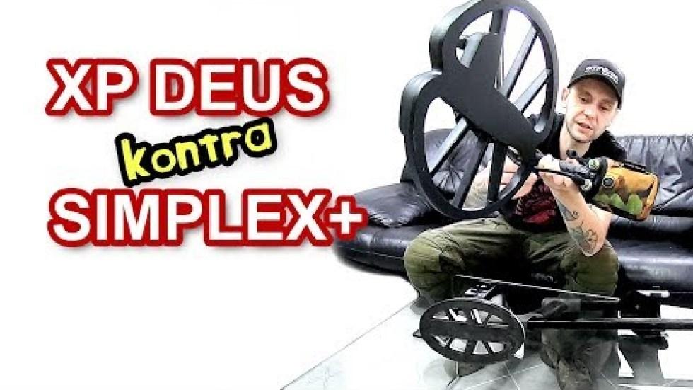 XP Deus kontra SIMPLEX+