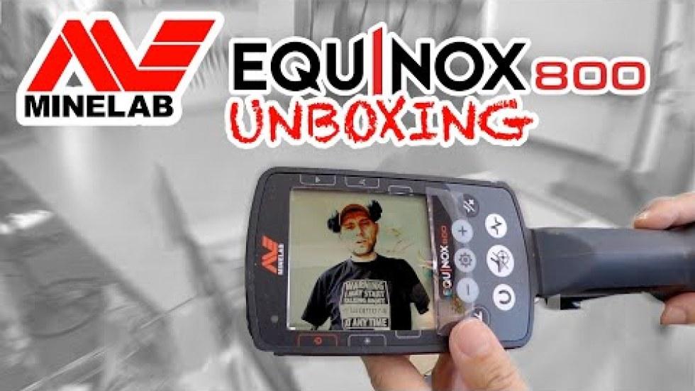 Minelab Equinox 800 unboxing i opinia