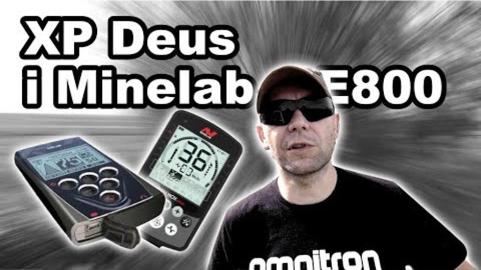 Minelab Equinox 800 i XP Deus HF na śmietniku