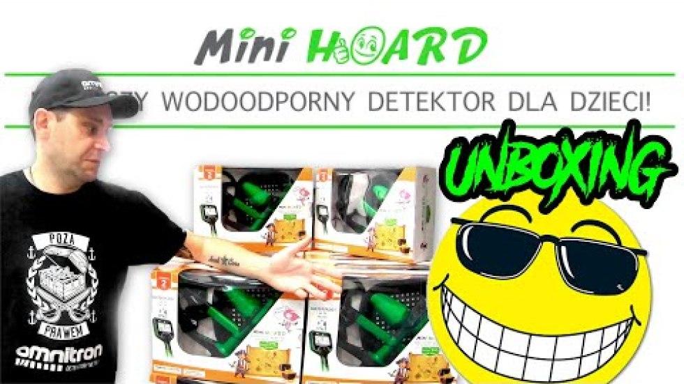 Nokta Makro Mini i Minidi Hoard unboxing