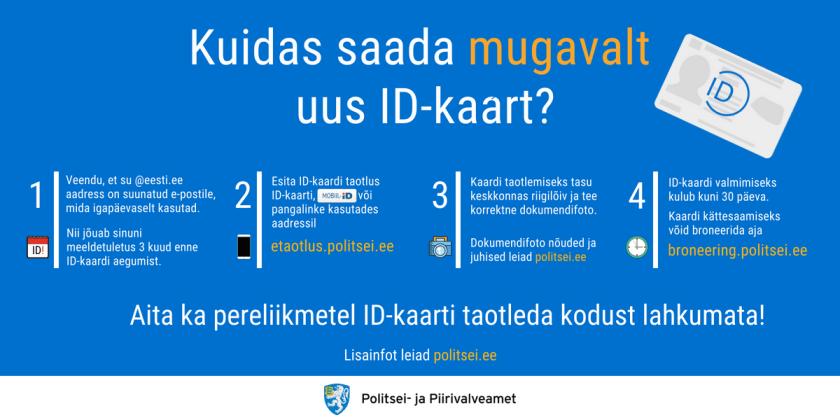 ID-kaardi taotlemine Omnivale