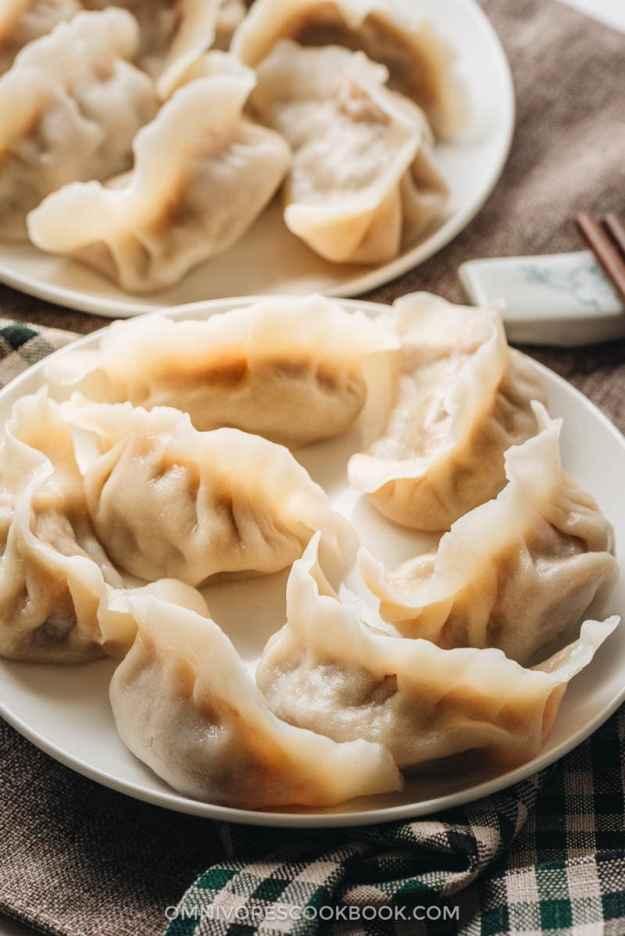 Homemade lamb dumplings