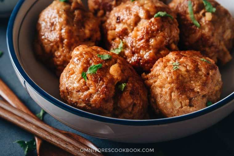 Image result for lion head meatballs and tofu