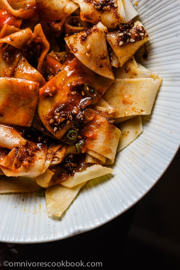 Biang Biang Noodles (Chinese Hot Sauce Noodles) | Omnivore ...