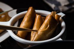 Cantonese Chicken Egg Roll Cooking Process | omnivorescookbook.com