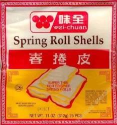 Egg Roll Shells