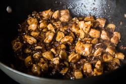 Stir Fried Chicken with Black Bean Sauce Cooking Process   omnivorescookbook.com