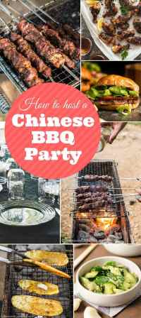 How to Host a Chinese BBQ Party