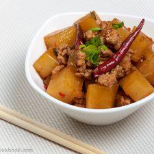 Chinese Braised Daikon Radish Omnivores Cookbook