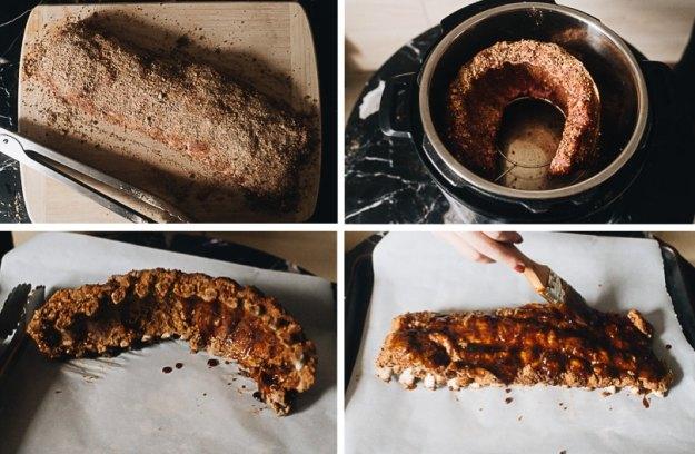 Homemade Instant pot pork ribs step-by-step