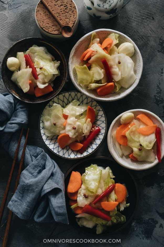 Chinese pickled cabbage