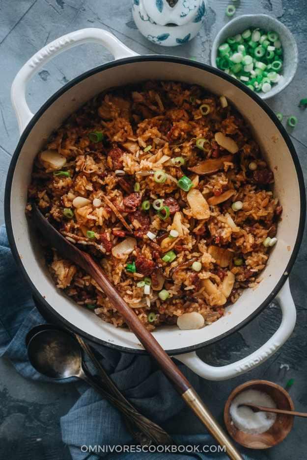 Sticky rice stuffing