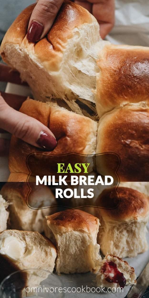 Easy Milk Bread Rolls | Omnivore's Cookbook