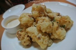 Cauliflower Fritti at Morello Bistro in Greenwich