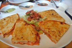 Lobster quesadillas at Salsa Picante in Port Chester, NY