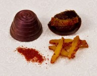 Chocolate treats from Le Rouge Cafe