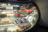 Part of the pastry counter at Bistro Versailles in Greenwich, CT