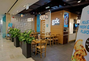 Grk Fresh Greek Entrance