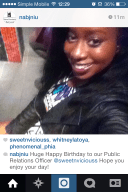Bday S/O from NABJ