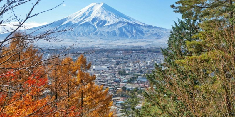 """【日本】拍攝秋之富士山""""不可錯過的5大景點   河口湖   富士吉田  """